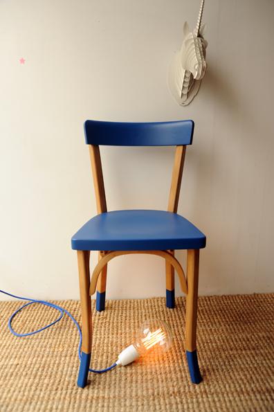 chaise baumann marthe l 39 atelier de niguedouille. Black Bedroom Furniture Sets. Home Design Ideas