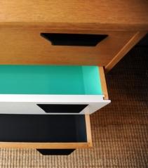 Commode détail tiroirs